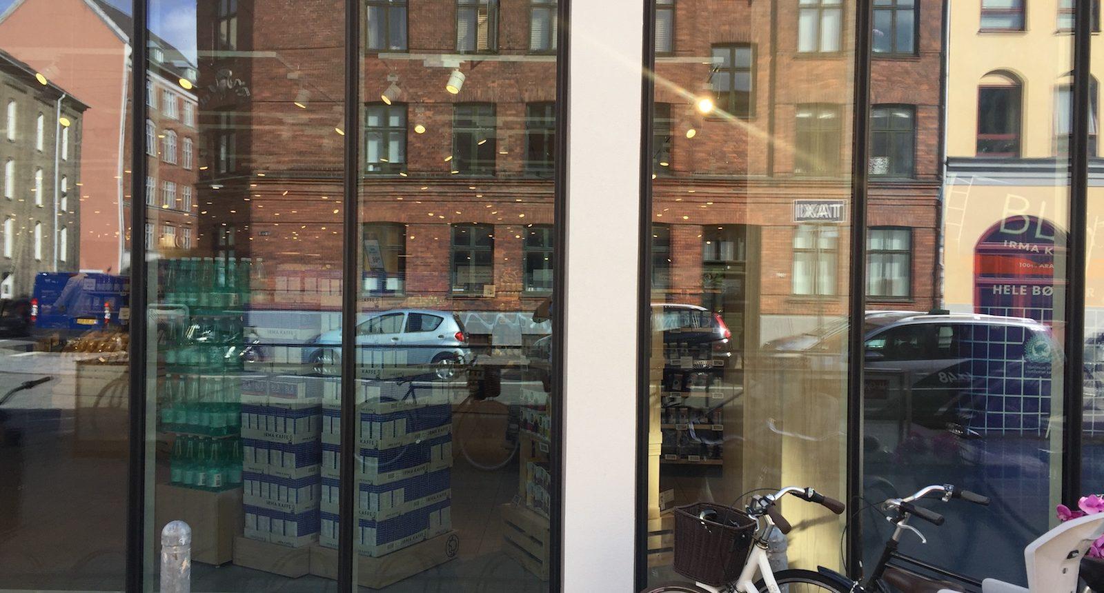 3M Prestige 70 ext monteret på vinduer